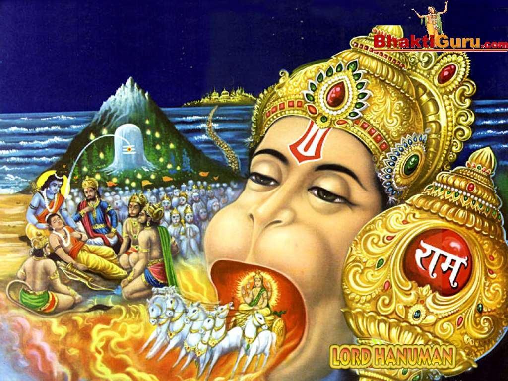 God pics of Hanuman