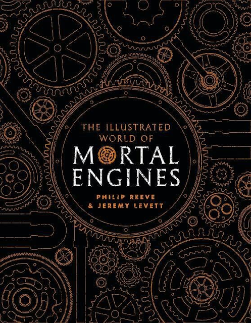 book cover of The Illustrated World of  Mortal Engines