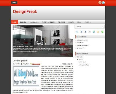 design freak العبقرى :  قالب