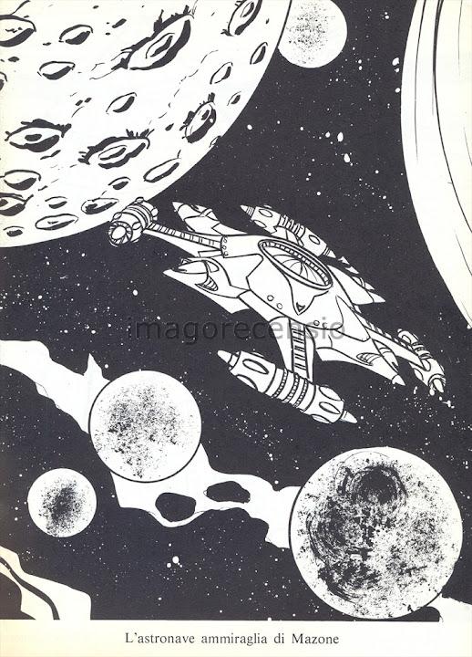 """Imago Recensio: """"Leggi disegna colora Capitan Harlock ..."""