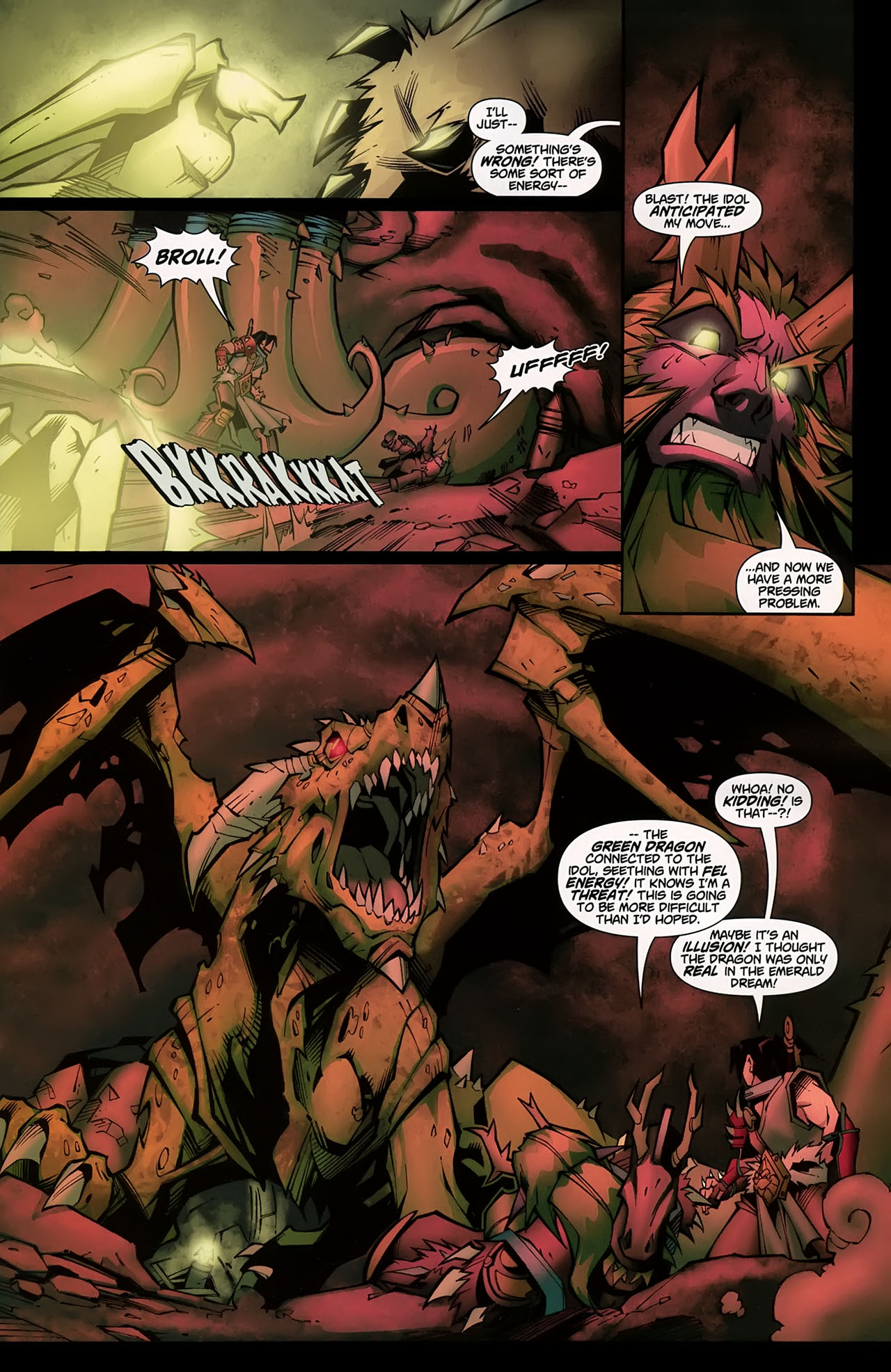Read online World of Warcraft comic -  Issue #5 - 14