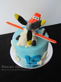 bolo aviões disney doces opções bragança