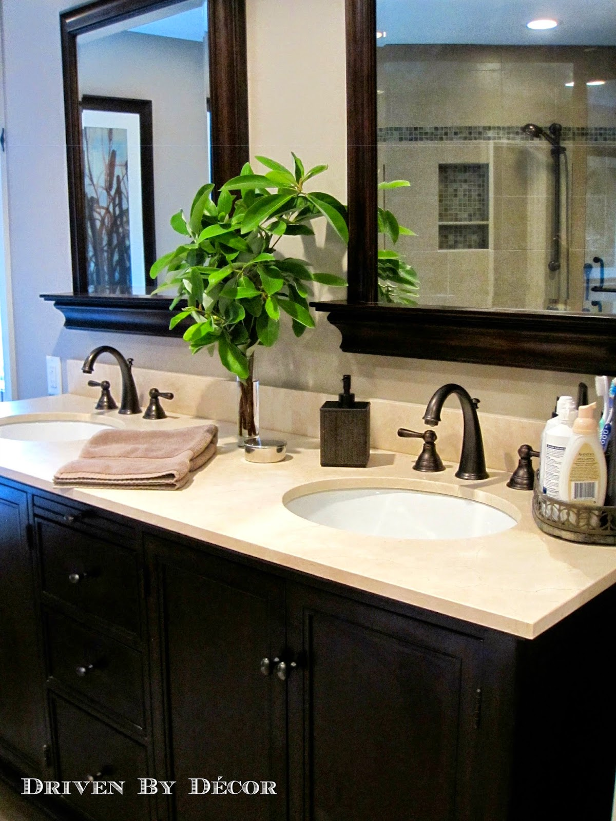 House tour master bedroom bathroom driven by decor - How to decorate a master bathroom ...
