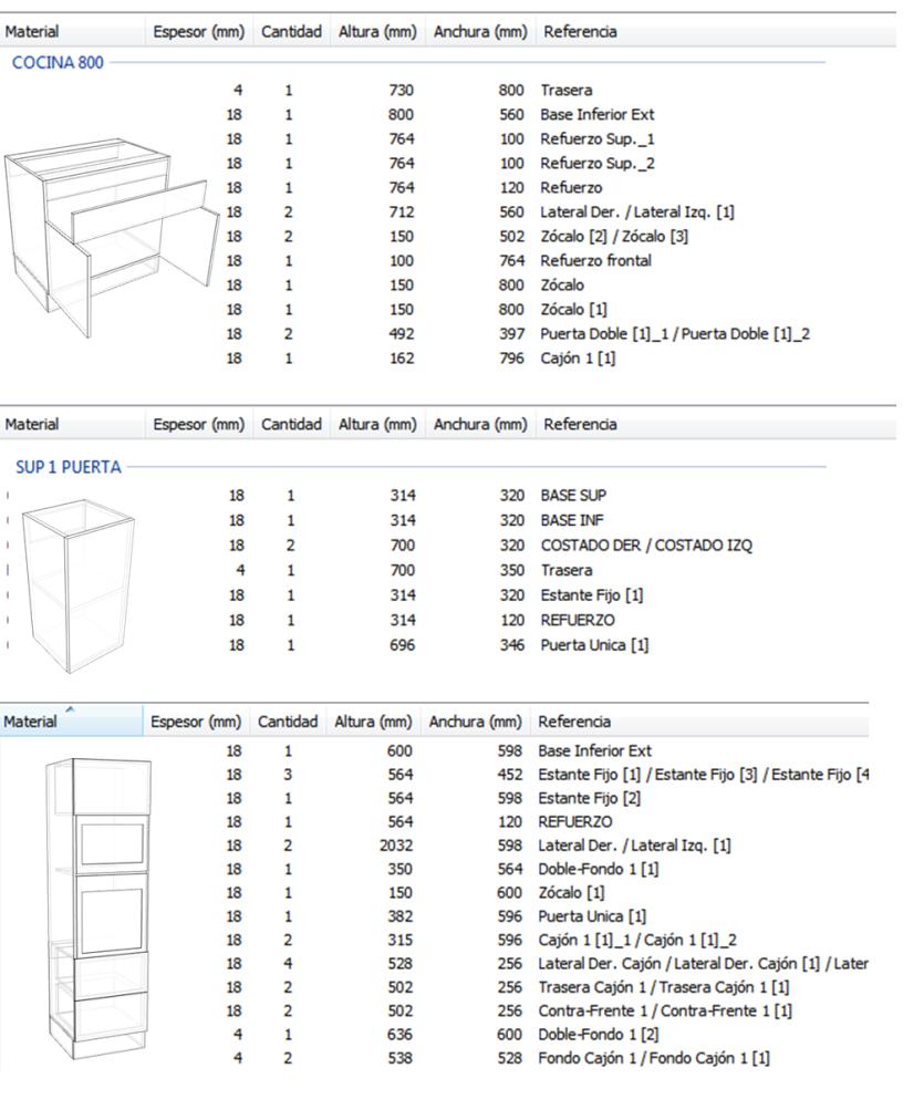 Diseo De Muebles Madera Construccin De Cocina Modular