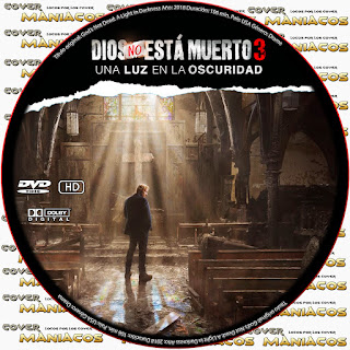 GALLETA DIOS NO ESTA MUERTO 3 - God's Not Dead: A Light in Darkness 2018 [COVER DVD]
