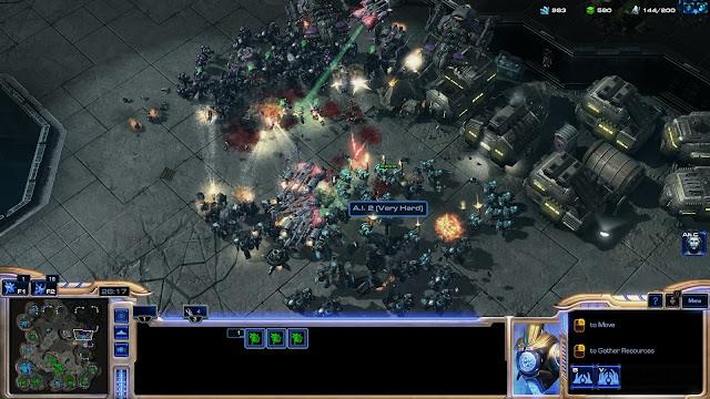 StarCraft 2 | Terran Melee