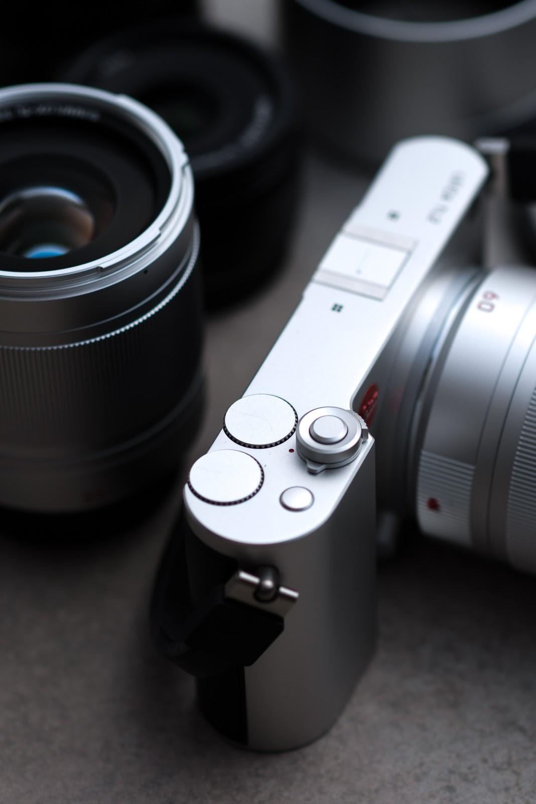 Органы управления Leica TL2