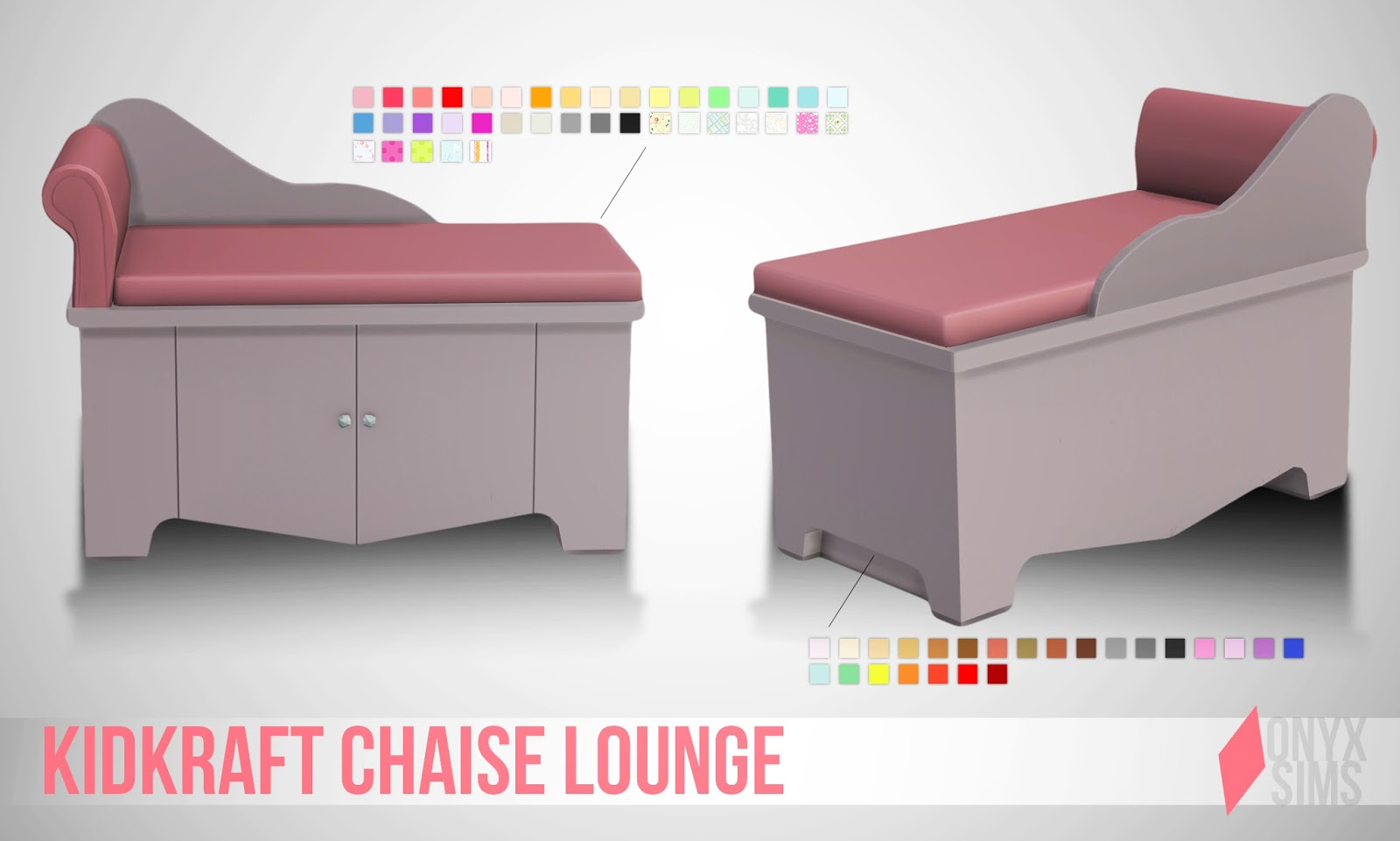 Kid kraft chaise lounge onyx sims for Chaise game free download