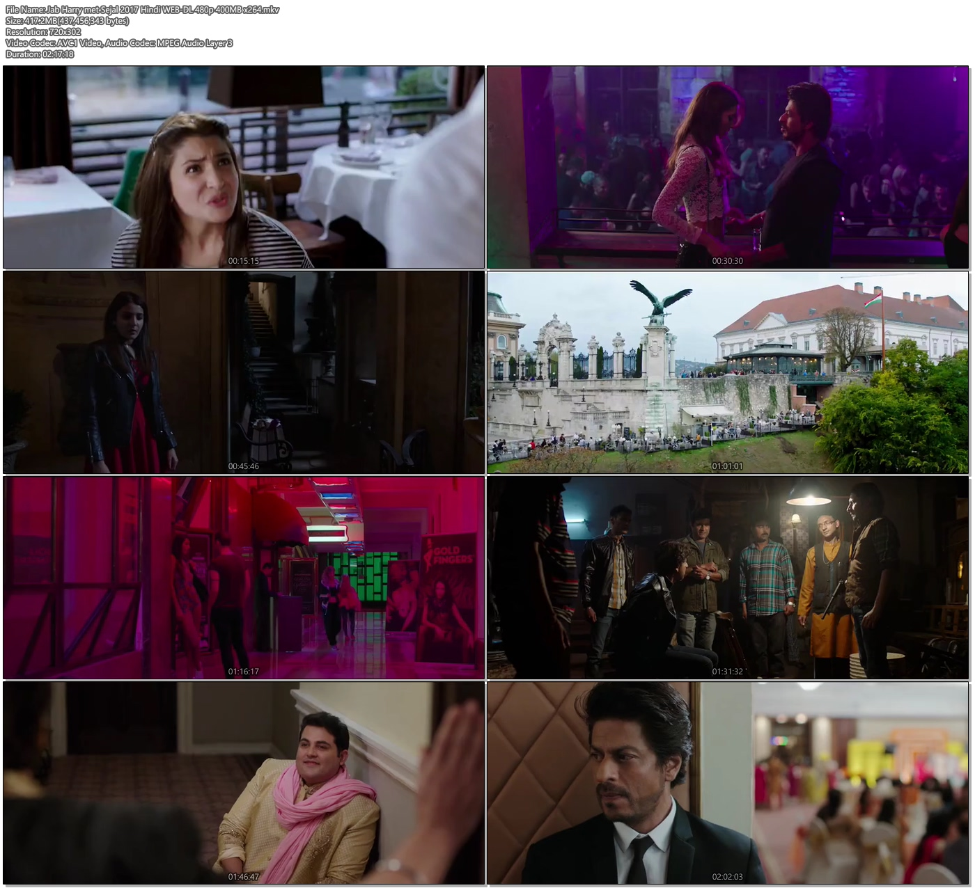 Jab Harry met Sejal 2017 Hindi WEB-DL 480p 400MB x264 Screenshot