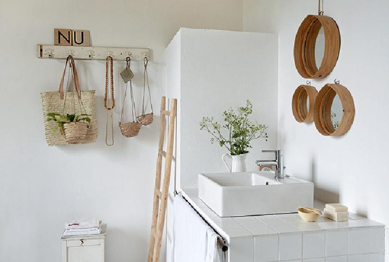 idee riciclo per il bagno