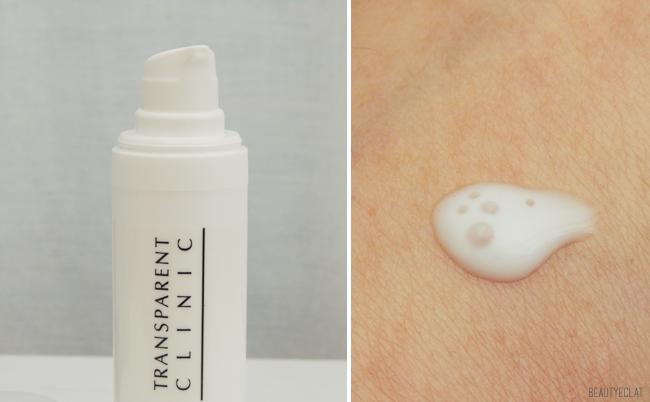 the beauty shopper transparent clinic soins revue avis test
