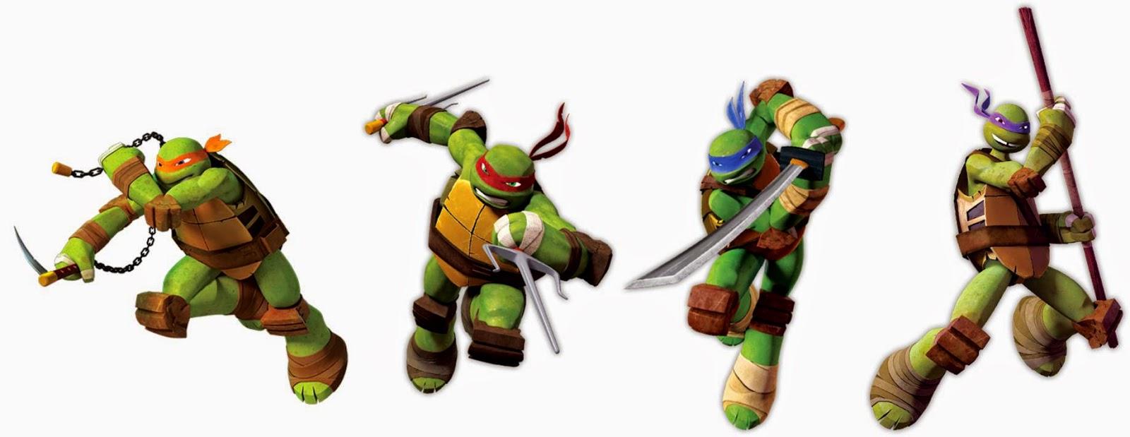 Desenho Animado Tartarugas Ninjas