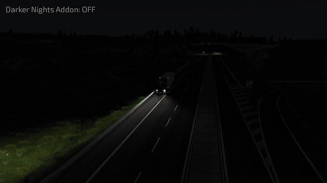 ets 2 darker nights addon v1.1 for realistic graphics mod screenshots 2