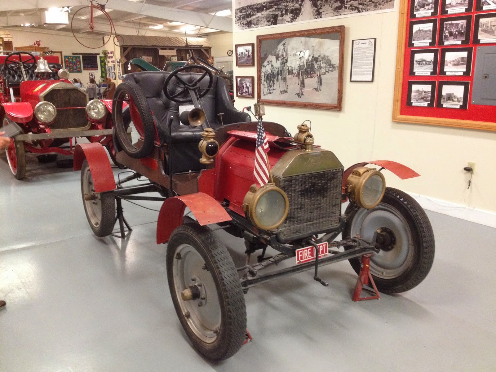 Fire Chief's red 1909 Model T