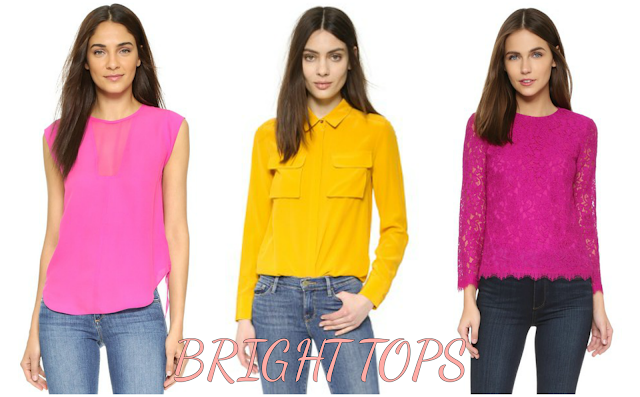 Bright Blouses