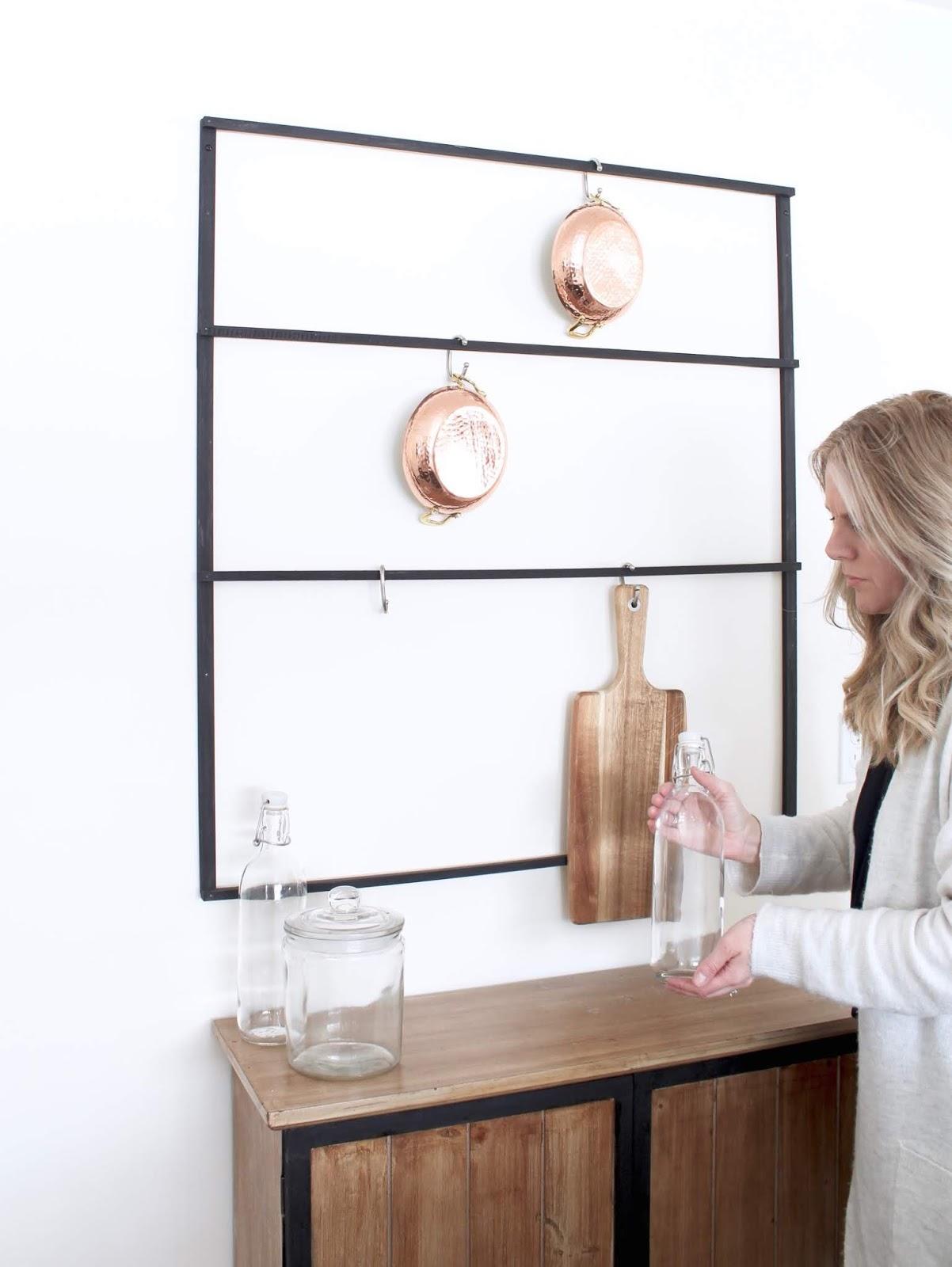 DIY-wall-mounted-pot-rack-8