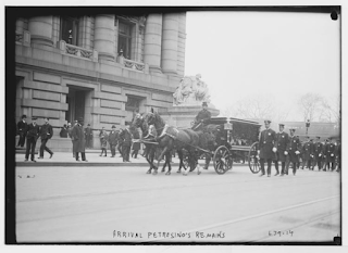 Petrosino's hearse paraded through New York