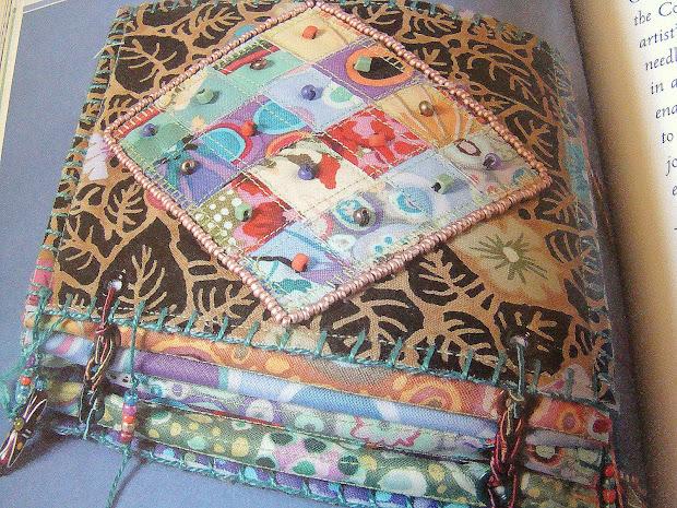 Fibre Fascination Pam Sussman' Fabric Art Journal Book