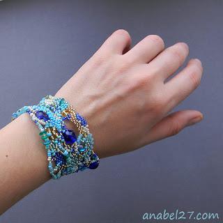 купить необычный браслет в стиле бохо украшения из бисера фото цена купить