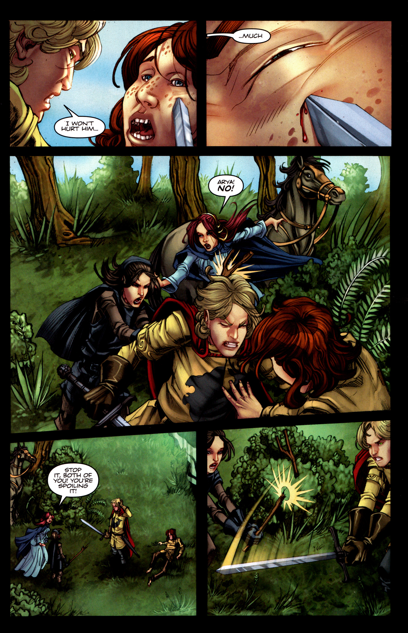 Read online A Game Of Thrones comic -  Issue #5 - 11