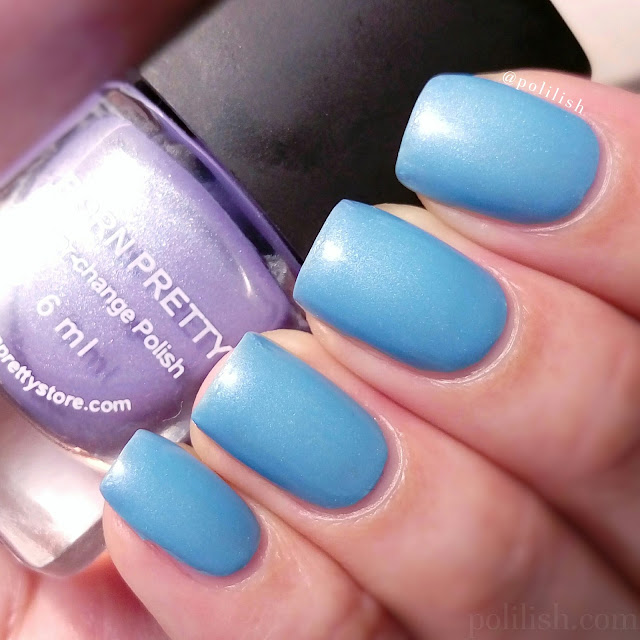 Born Pretty Store thermal color changing polish 110 | polilish