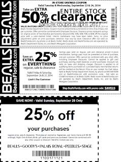 free Bealls coupons april 2017