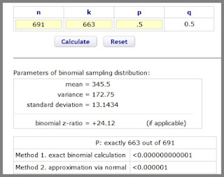 binomial calculation