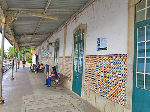 Olhão Station, Algarve, Portugal.