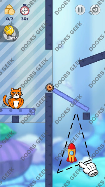 Hello Cats Level 168 Solution, Cheats, Walkthrough 3 Stars for Android and iOS
