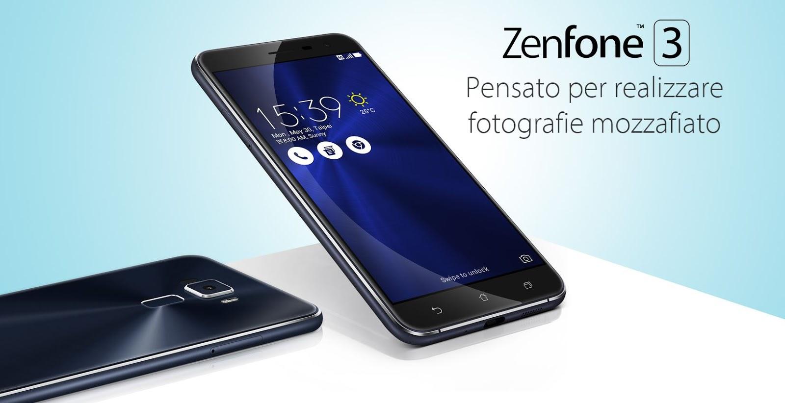 Asus Zenfone 3 caratteristiche, scheda tecnica e prezzo più basso