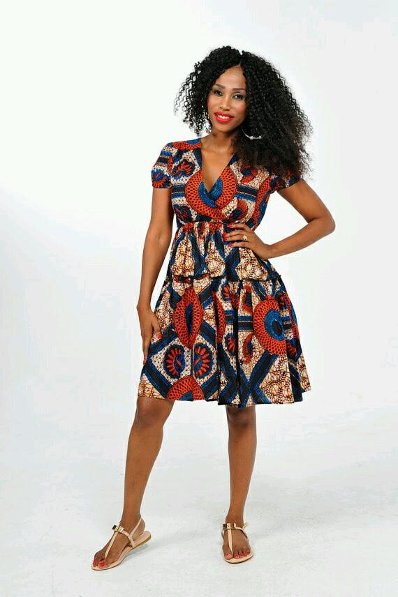 Stylish Ankara dress  for girls