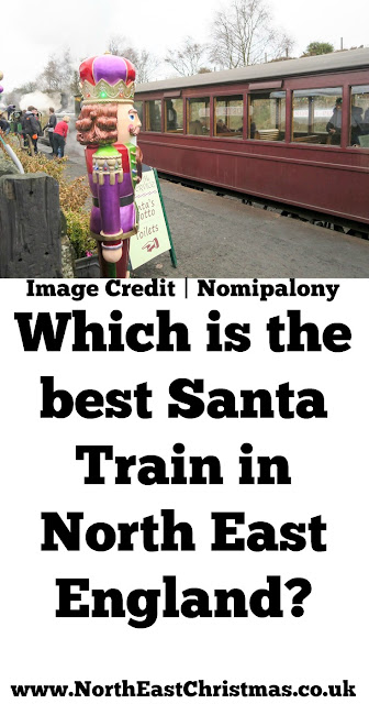 Which is the best 'Santa Train' in the North East? Tanfield Railway or Polar Express?
