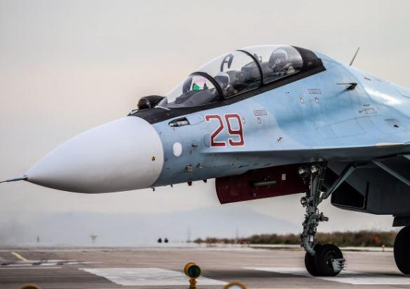 Sukhoi Su-30SM cockpit