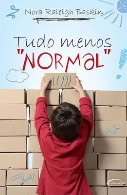 Capa do livro Tudo Menos Normal
