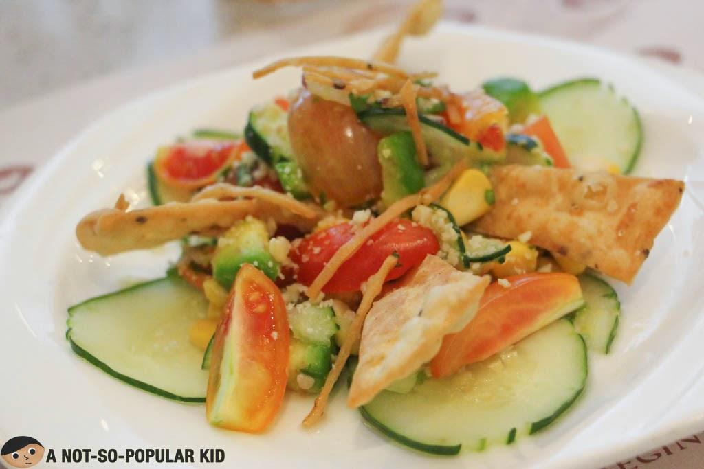The refreshing Papad Salad of Vikings
