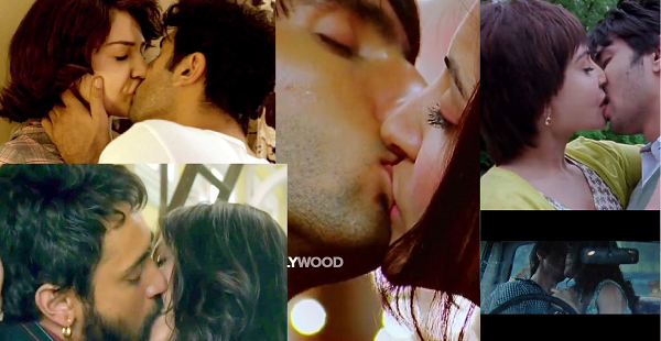 Anushka sharma kissing seen