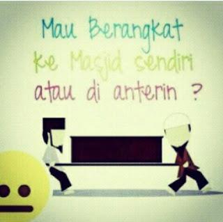 go to masjid