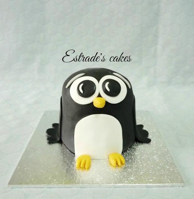 tarta de pingüino 1