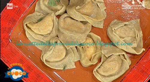 Tortelli di noci ricetta Spisni da Prova del Cuoco