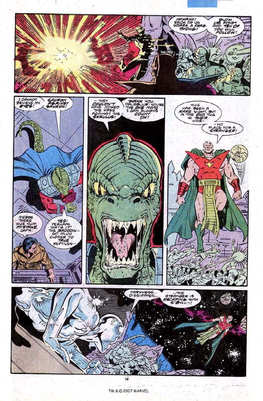 Read online Silver Surfer (1987) comic -  Issue #27 - 21