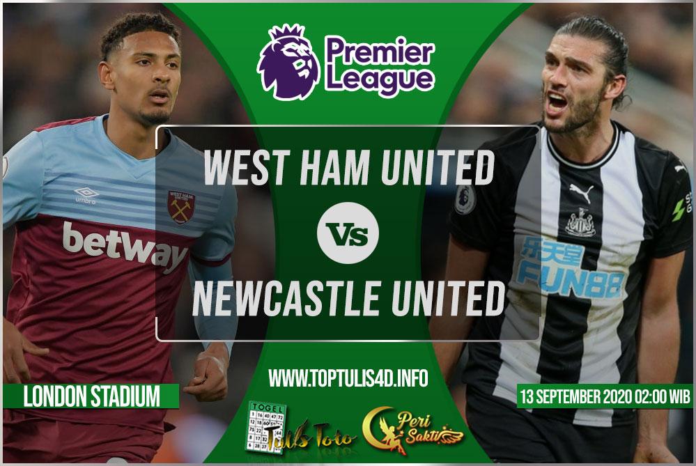 Prediksi West Ham United vs Newcastle United 13 September 2020