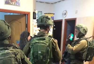 Israeli soldiers on patrol