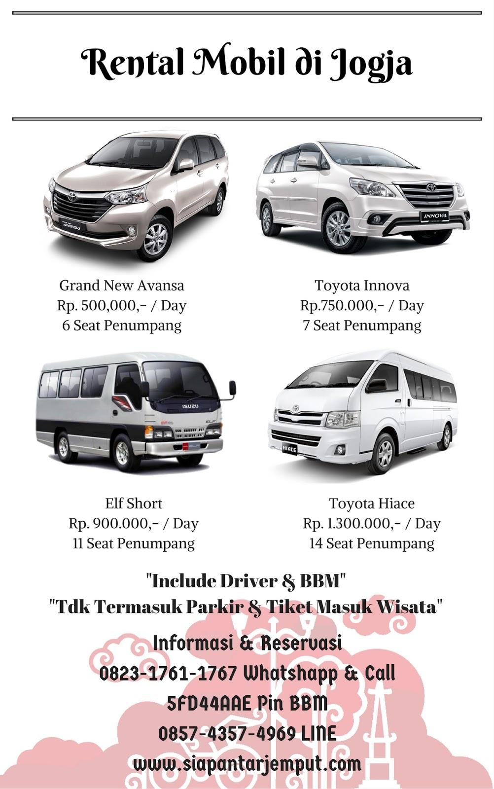 Rental Mobil Jogja    Sewa Mobil Murah di Yogyakarta
