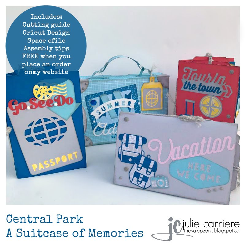 Central Park Suitcase of Memories project
