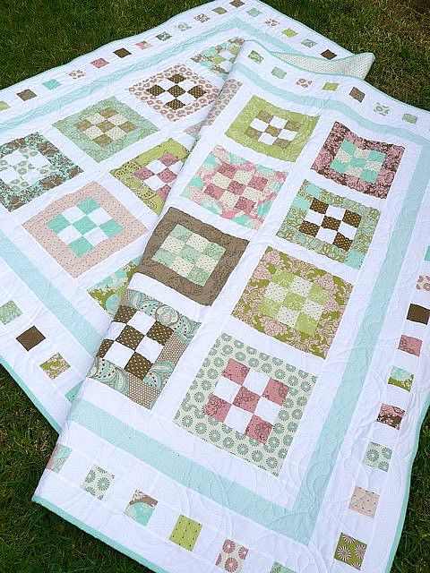 Sweet Menagerie Quilt Free Quilt