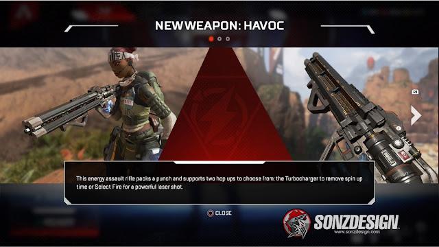 Apex Legends Update Adds Havoc