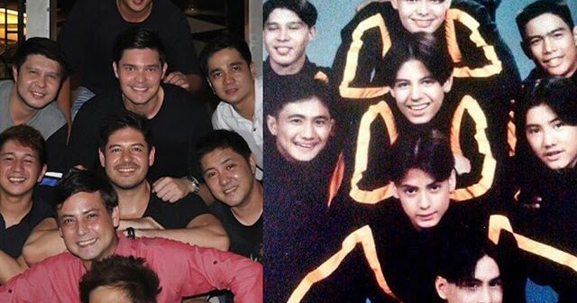 Dingdong Dantes and his old Dance Group Abztract Dancers ...