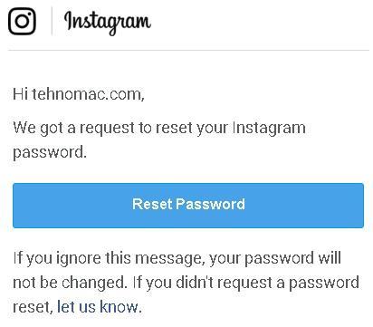 lupa kata sandi instagram