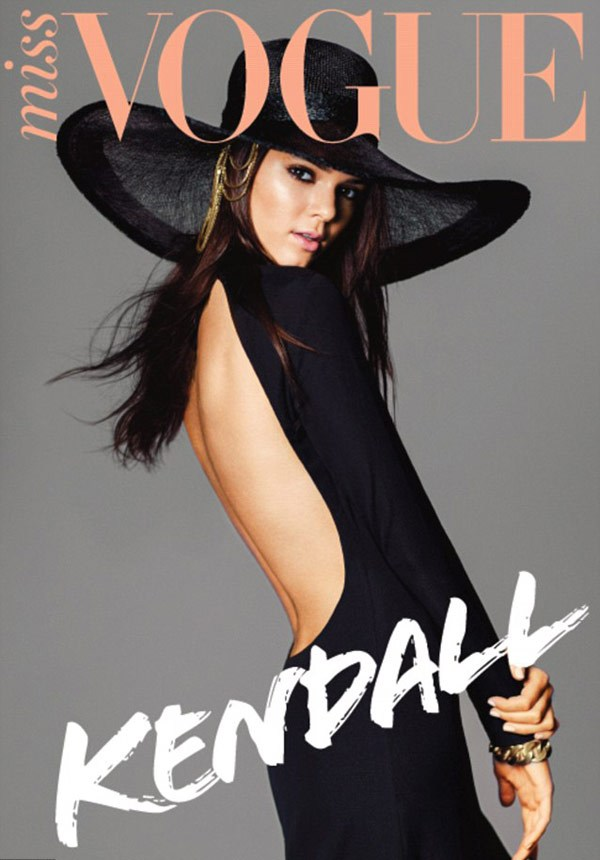Kendall Jenner Covers Vogue Magazine  quot Miss Vogue quot Kendall Jenner