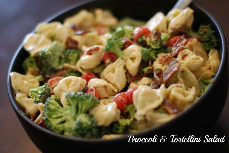 tremely V: Broccoli & Tortellini Salad